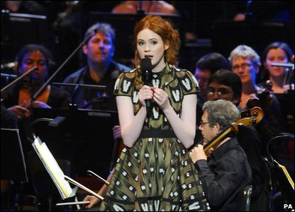 Karen Gillan at the Doctor Who Prom