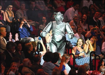 Cyberman at the Doctor Who Prom