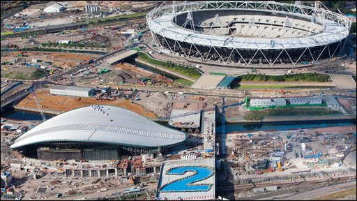 The London 2012 site