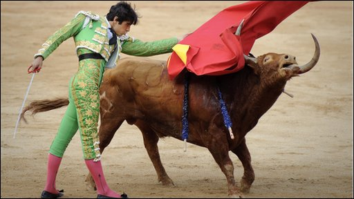 should bullfighting be banned Bullfighting: for and against essay bullfighting is an event where and because of that i think that we shouldn't ban an important tradition for many people in.
