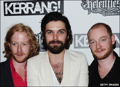 Biffy Clyro picked up the award for best video