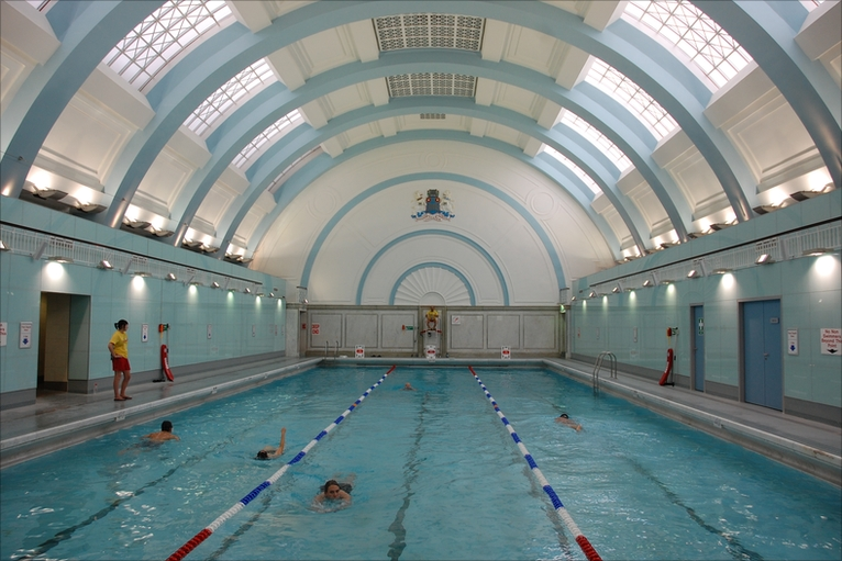 Bbc In Pictures Historic Soho Baths Open To The Public
