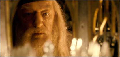 CBBC - Newsround - Michael Gambon (Dumbledore)