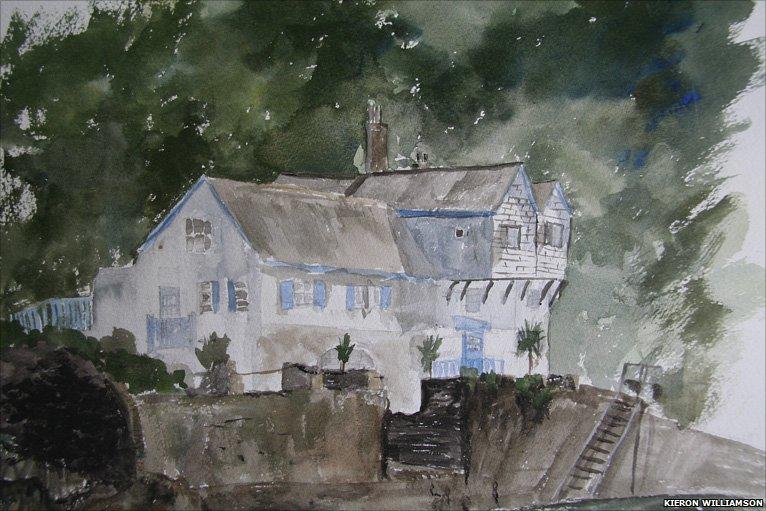 Kieron Williamson's painting-2