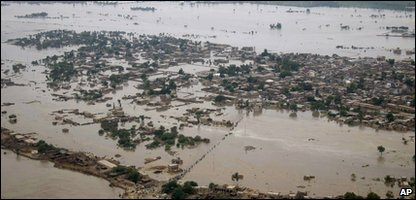 Pakistan Sindh Province under water