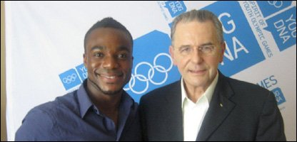 Ore and Jacques Rogge