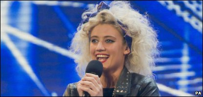 X Factor auditionee Katie Waissel