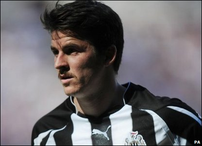 Joey Barton with a moustache