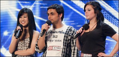 X Factor contestants Jham