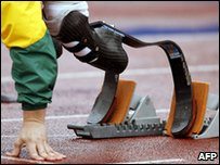 Paralympic athlete