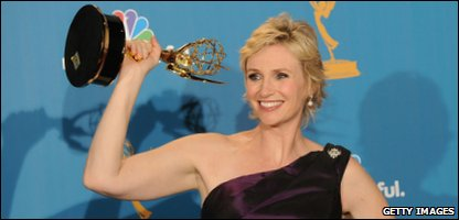 Glee actress Jane Lynch, who plays Sue Sylvester