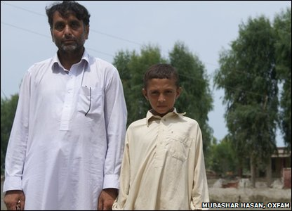 10-year-old Anis and his dad