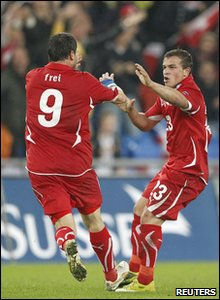 England v Switzerland Euro 2012 qualifier - Switzerland's Xherdan Shaqiri