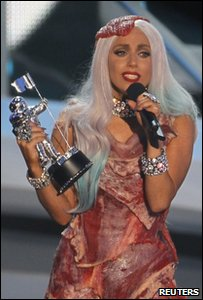 Lady Gaga at the MTV Music Video Awards