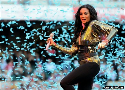 Loads of stars  - including Strictly Come Dancing judge Alesha Dixon entertained the crowds..