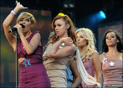 The Saturdays performed at Help for Heroes