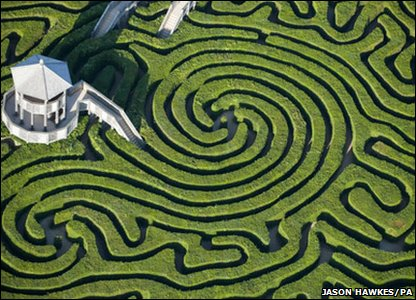 View like this this maze is at longleat house in wiltshire england