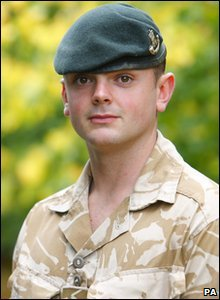 The Queen's Gallantry Medal is also going to Rifleman Reece Terry. He's being recognised for his bravery in leading a night raid with a force of 100 through an area littered with bombs.