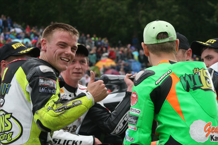 BBC In pictures Sam Lowes and Ben Wilson