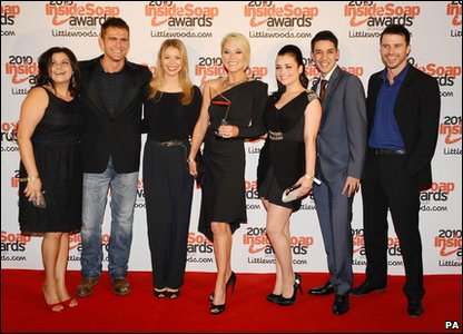 Inside Soap Awards 2010 - EastEnders cast members