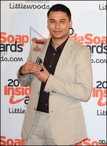 Inside Soap Awards 2010 - EastEnders' Ricky Norwood