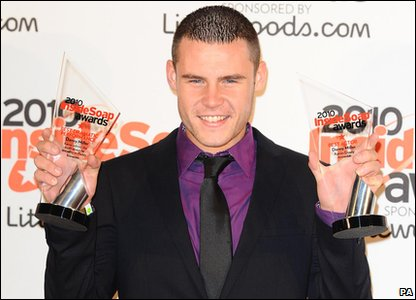 Inside Soap Awards 2010 - Emmerdale's Danny Miller