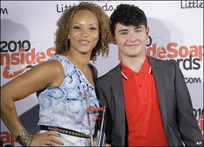 Inside Soap Awards 2010 - Waterloo Road's Angela Griffin and Josh Stevenson