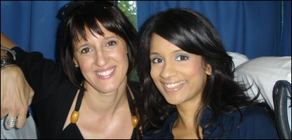 Sonali and Karen Pickering