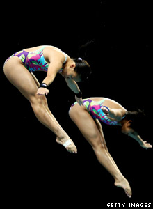 Diving at Delhi's Commonwealth Games