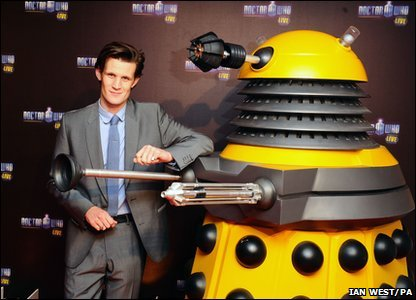 Doctor Who Live - Matt Smith and Dalek