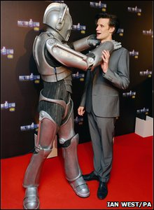 Doctor Who Live - Matt Smith and a Cyberman