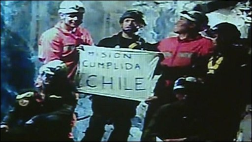 Chile miners' rescue - mission completed
