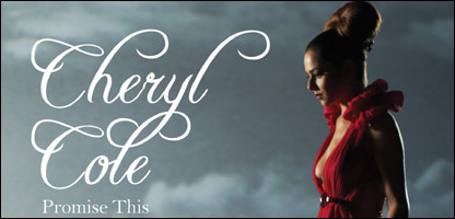 The cover of Cheryl Cole's single, Promise This