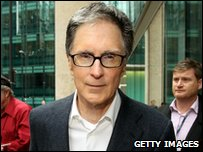 New Liverpool owner John Henry from New England Sports Ventures
