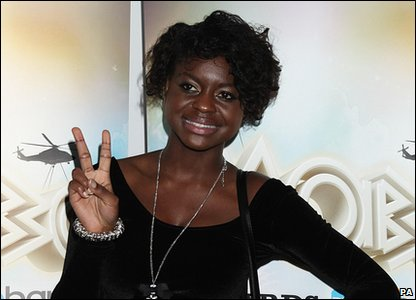 Gamu Nhengu at the 2010 MOBO Awards.