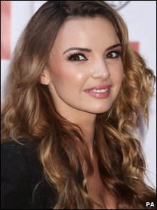Nadine Coyle arriving at the Q Awards 2010 at Grosvenor House Hotel, in London