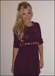 Mollie from The Saturdays
