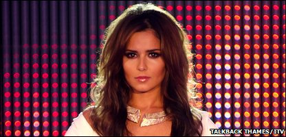 X Factor judge Cheryl Cole