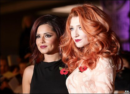 Pride of Britain Awards 2010 - Cheryl Cole and Nicola Roberts from Girls Aloud