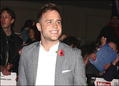 Pride of Britain Awards 2010 - Olly Murs