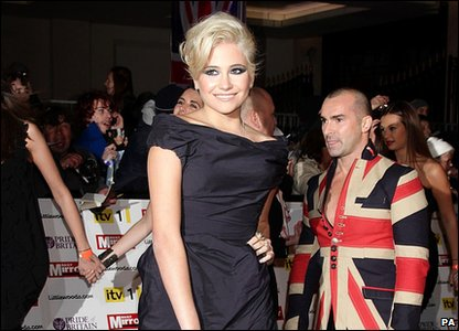 Pride of Britain Awards 2010 - Pixie Lott