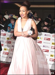 Pride of Britain Awards 2010 - Rebecca Ferguson from The X Factor