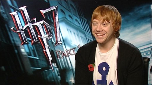 Harry Potter actor Rupert Grint talks to Newsround