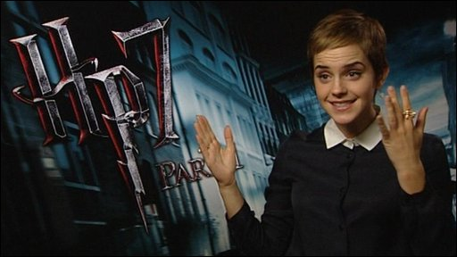Harry Potter actress Emma Watson talks to Newsround