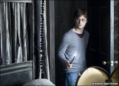 Daniel Radcliffe as Harry Potter in a scene from Harry Potter and the Deathly Hallows: Part 1