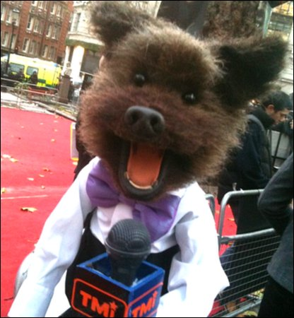 Harry Potter and the Deathly Hallows Part 1 premiere - CBBC's Hacker!