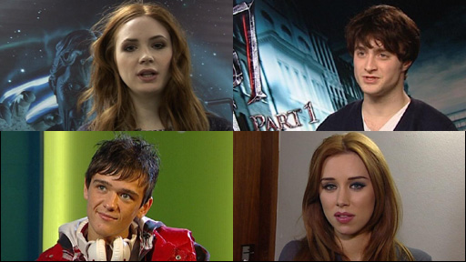 Celebrities Karen Gillan, Daniel Radcliffe, George Sampson and Una Healy talk about bullying