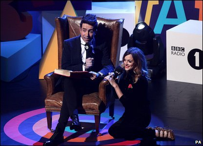Nick Grimshaw and Fearne Cotton host the Radio 1 Teen Awards