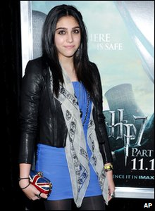 Harry Potter and the Deathly Hallows Part 1 - New York premiere - Lourdes Leon, Madonna's daughter