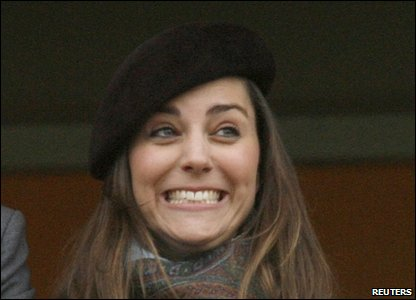 Kate Middleton who will marry Prince William next year.